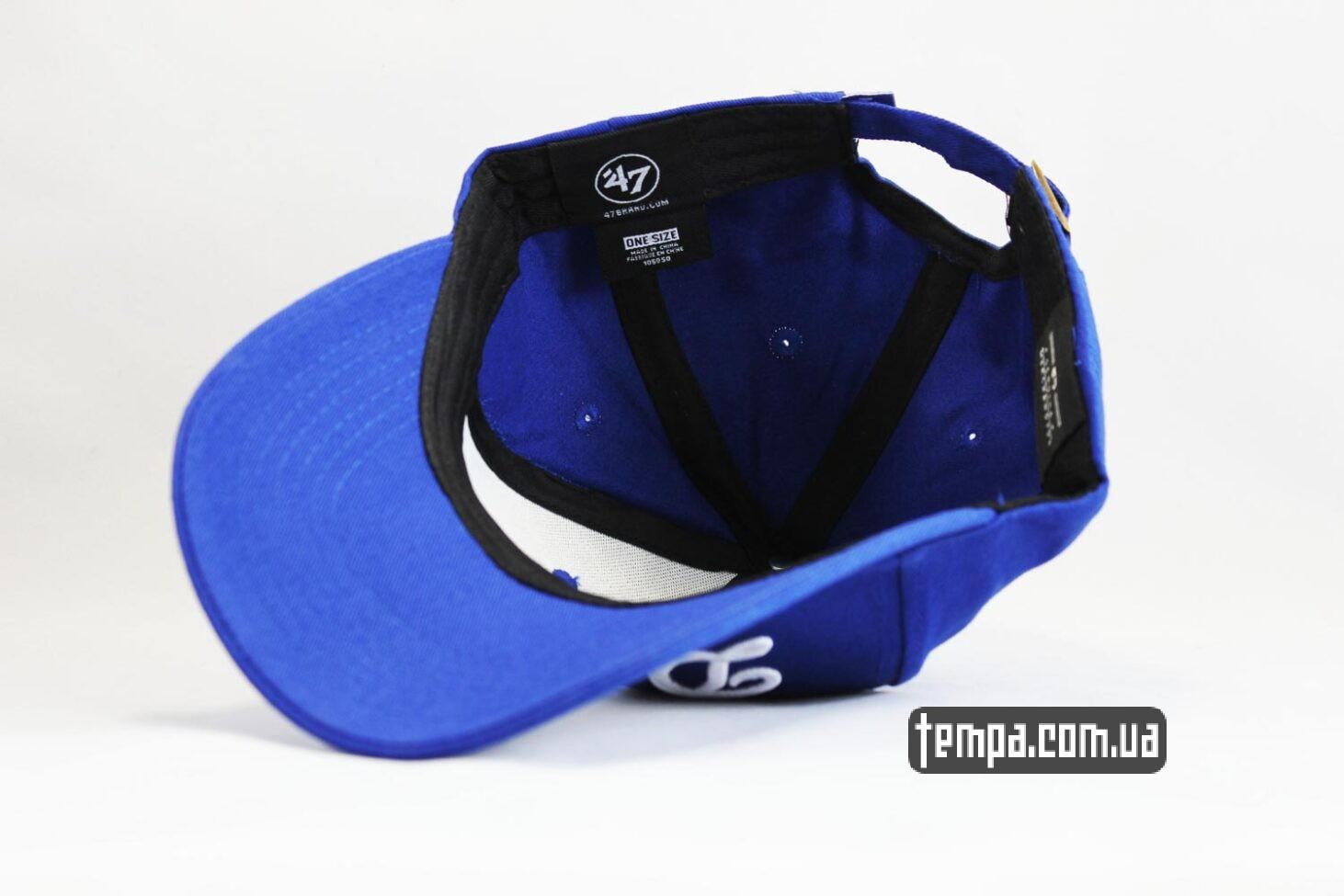 47 New York NYC кепка snapback бейсболка Dodgers 47 New Era синяя купить