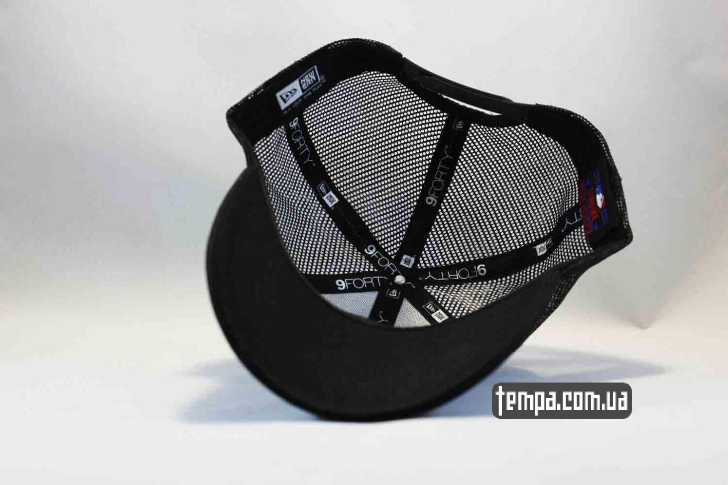9forty оригинал кепка бейсболка trucker LA Los Angeles New Era черная сеточка