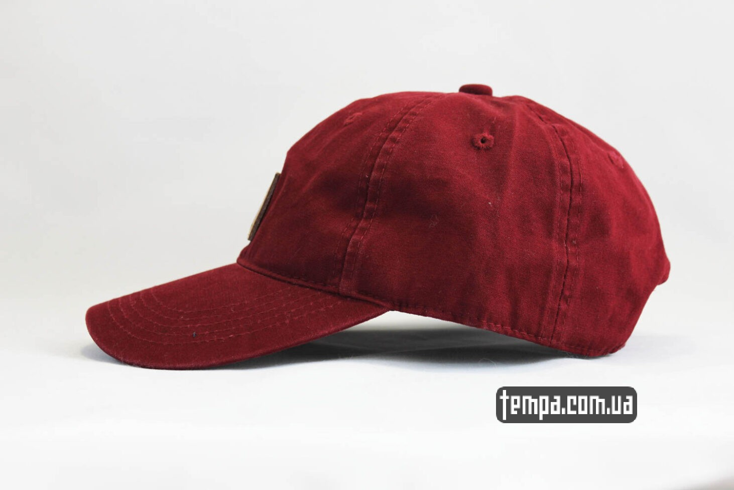 Carhartt Украина купить оригинал кепка бейсболка snapback Carhartt бордовая кожаный логотип