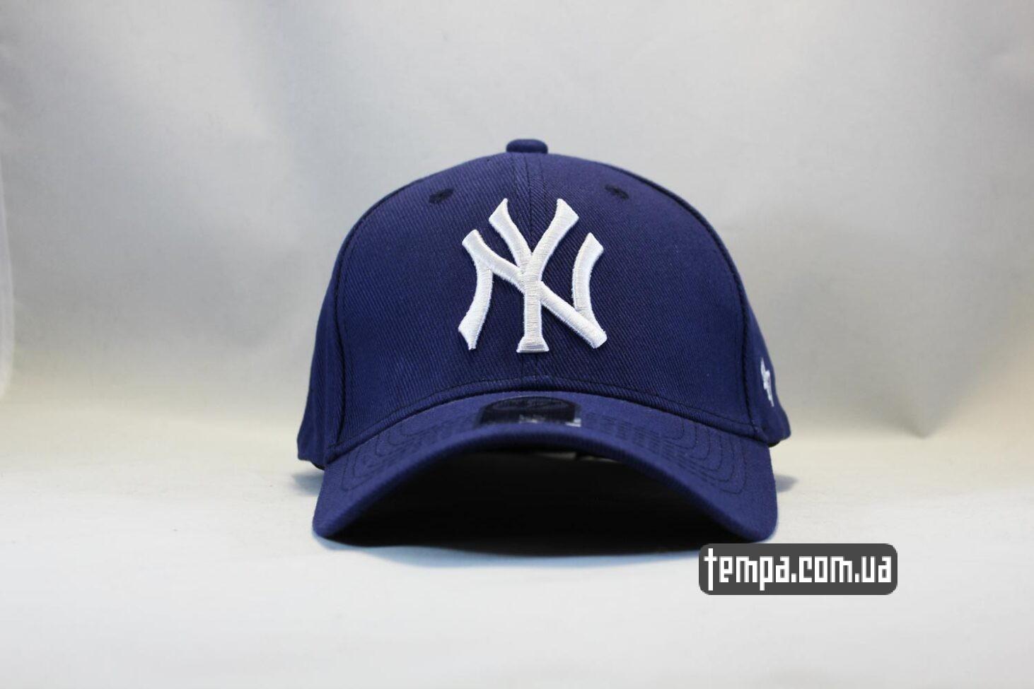 кепка бейсболка NY New York Yankees 47 New Era синяя