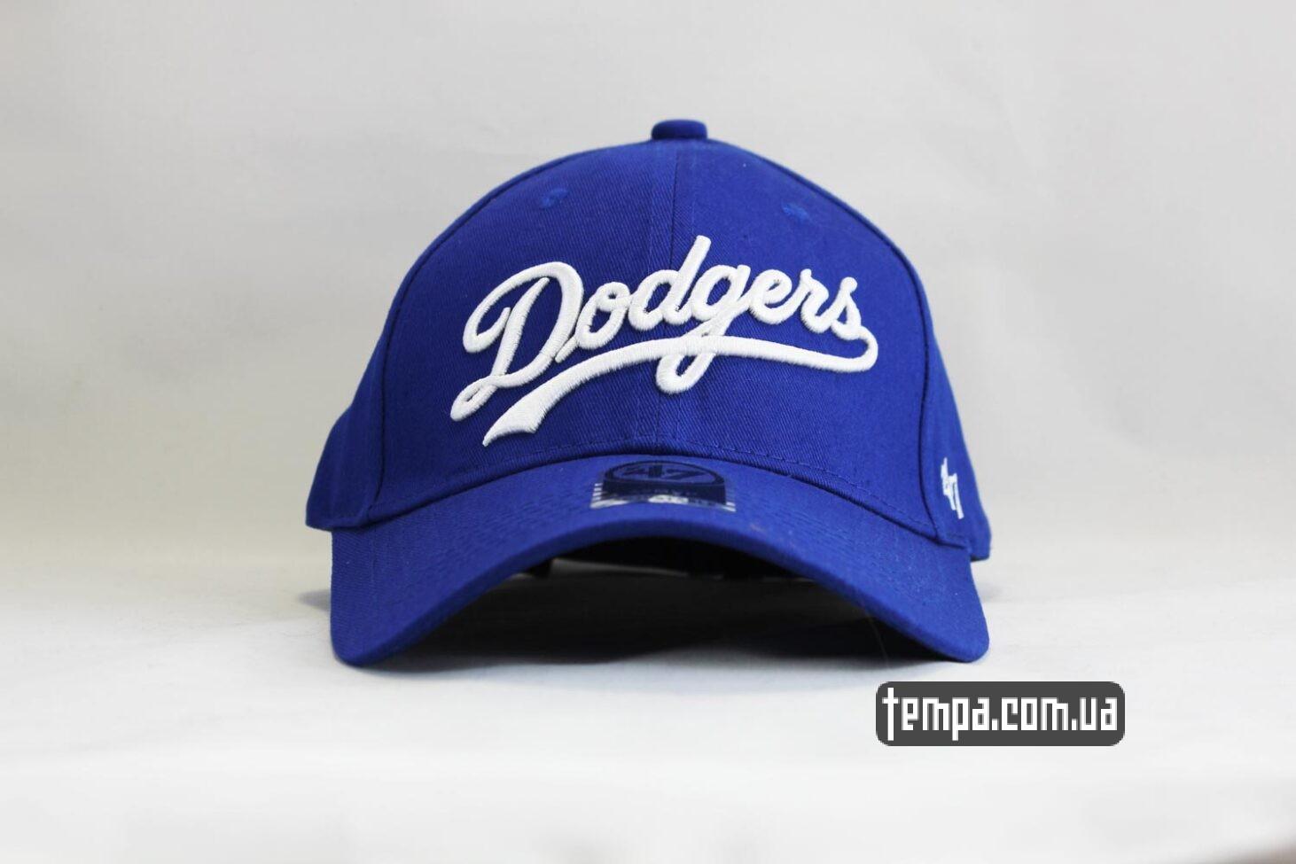 кепка snapback бейсболка Dodgers 47 New Era синяя купить