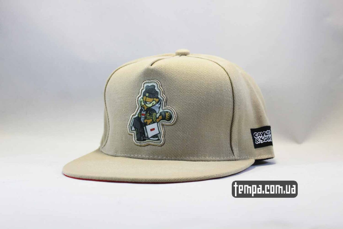 кепка snapback garfield swag Cayler and Sons серая купить