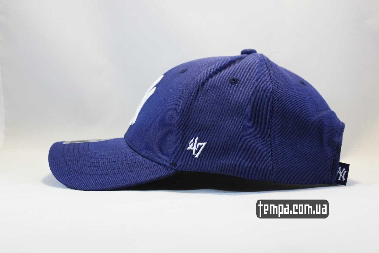 купить Украина кепка бейсболка NY New York Yankees 47 New Era синяя