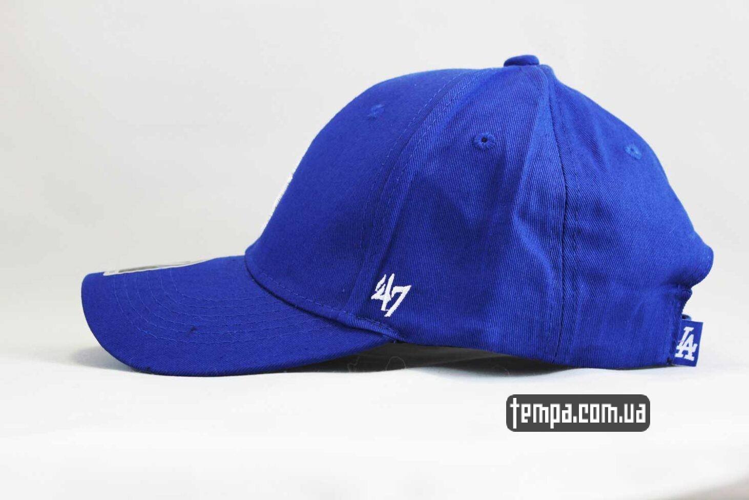 лос анджелес одежда купить кепка бейсболка snapback 47 new era Los Angeles LA синяя
