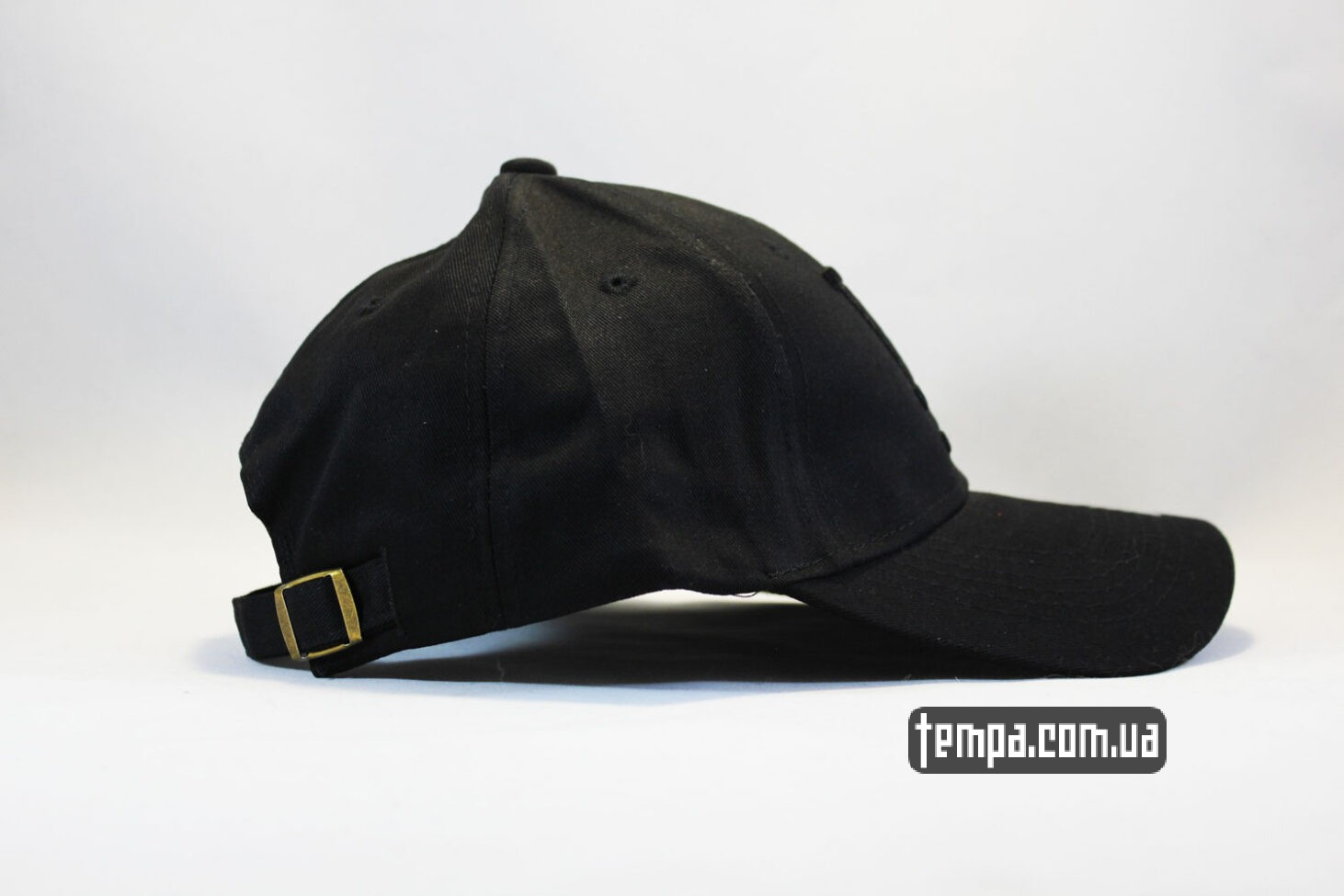 реперская кепка бейсболка LA Los Angeles 47 New Era черная на черном
