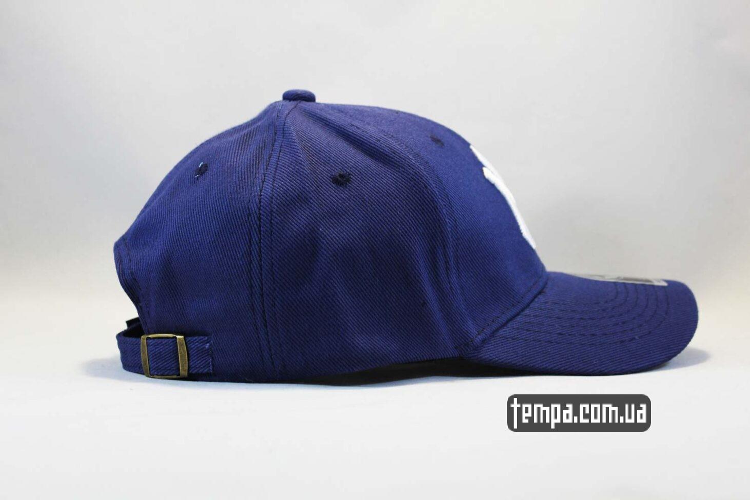 синяя голубая кепка бейсболка NY New York Yankees 47 New Era синяя