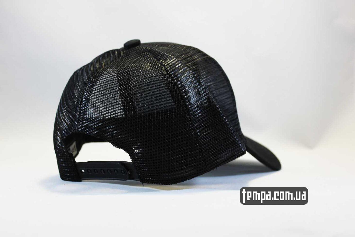 такер с сеткой кепка бейсболка Trucker NY New York Yankees черная сеточка