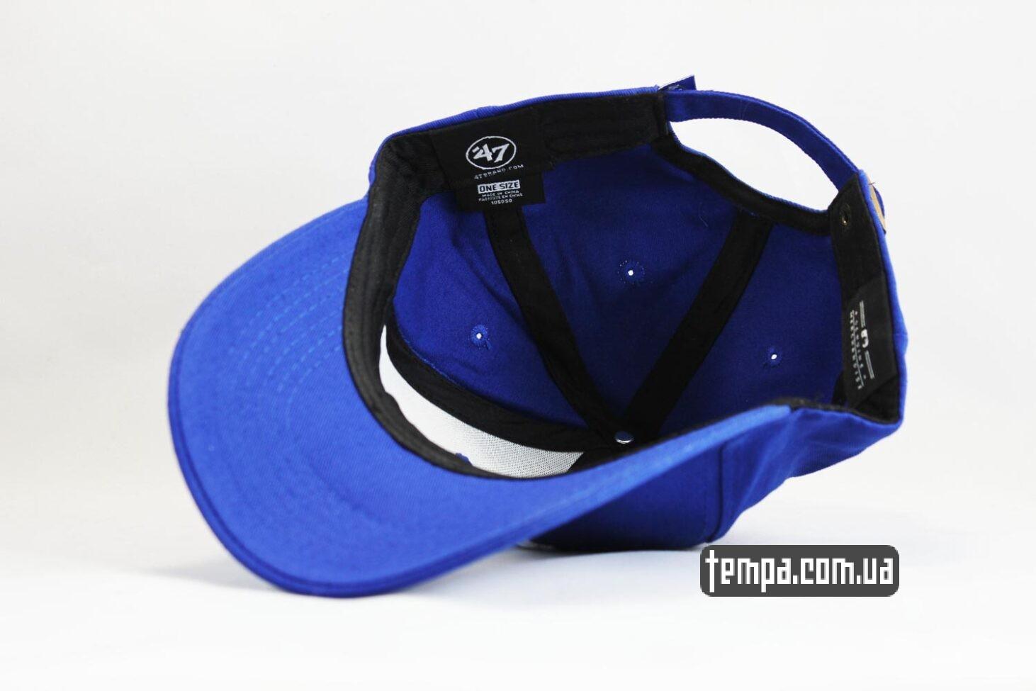 закругленный козырек кепка бейсболка snapback 47 new era Los Angeles LA синяя