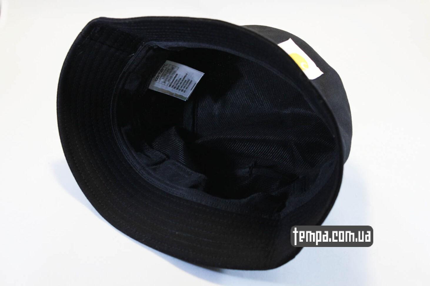 головной убор панама carhartt черная унисекс купить Украина