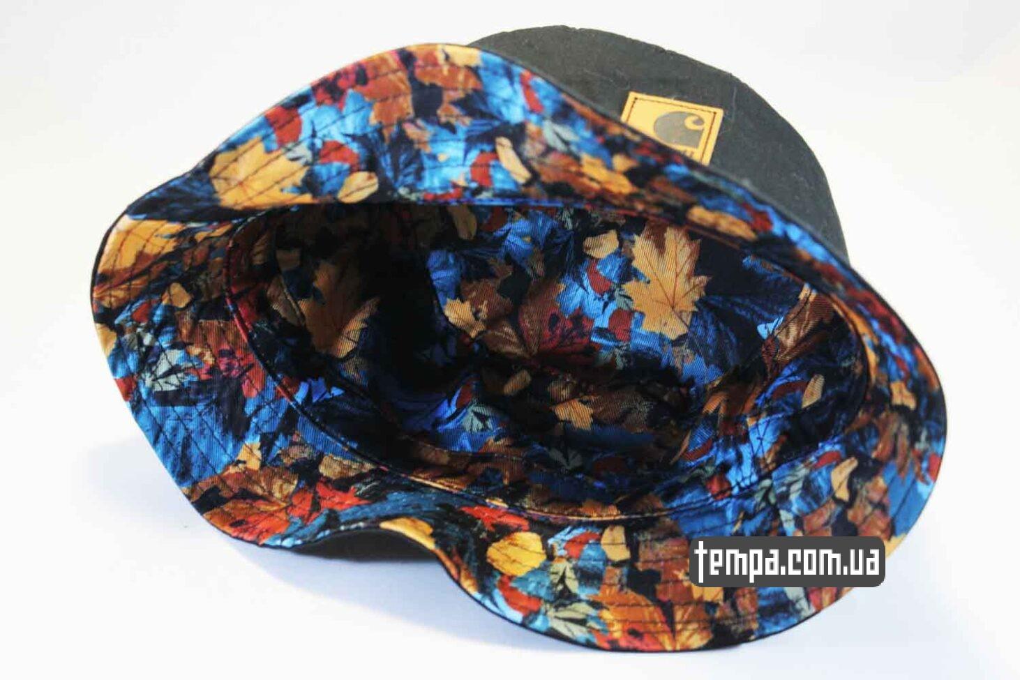 купить панаму украина Панама летняя Carhartt черная bucket hat цветная