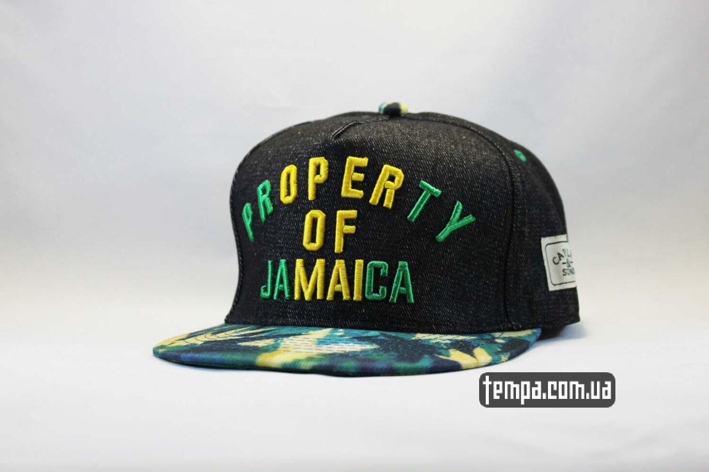 кепка Snapback Property of Jamaica Cayler and Sons бейсболка купить