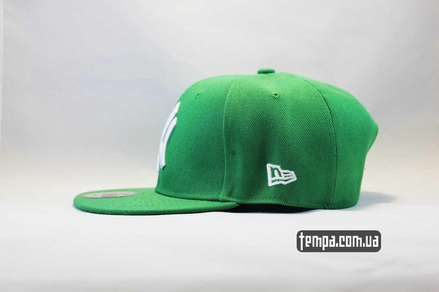 купить Украина кепка snapback newera new york yankees зеленая green