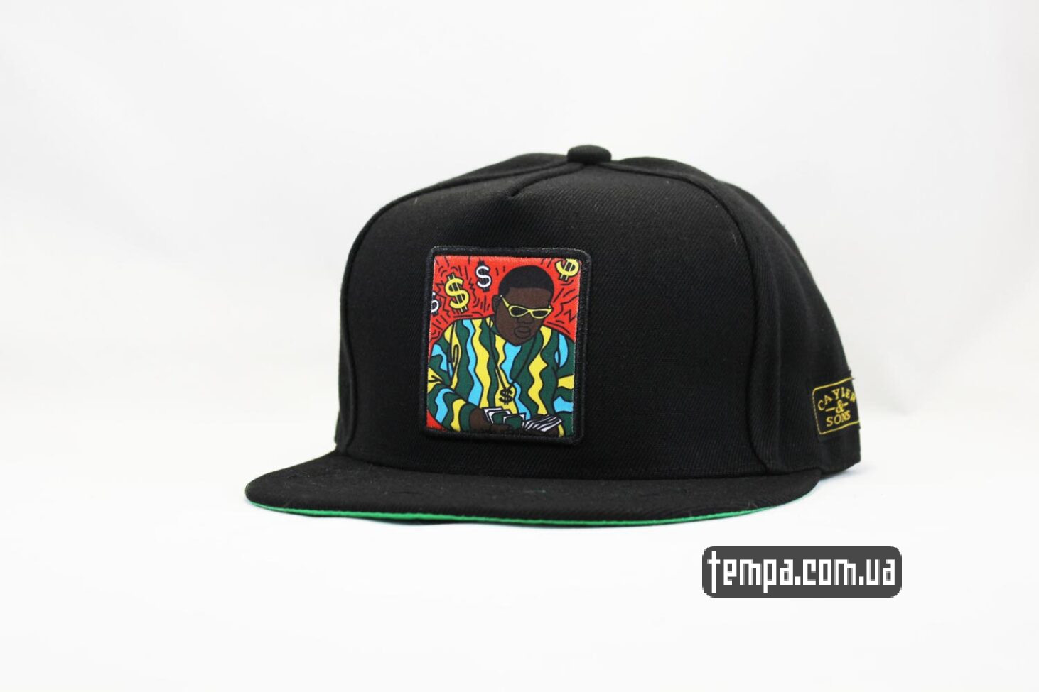 кепка snapback The Notorious B.I.G. Cayle and Sons деньги доллары