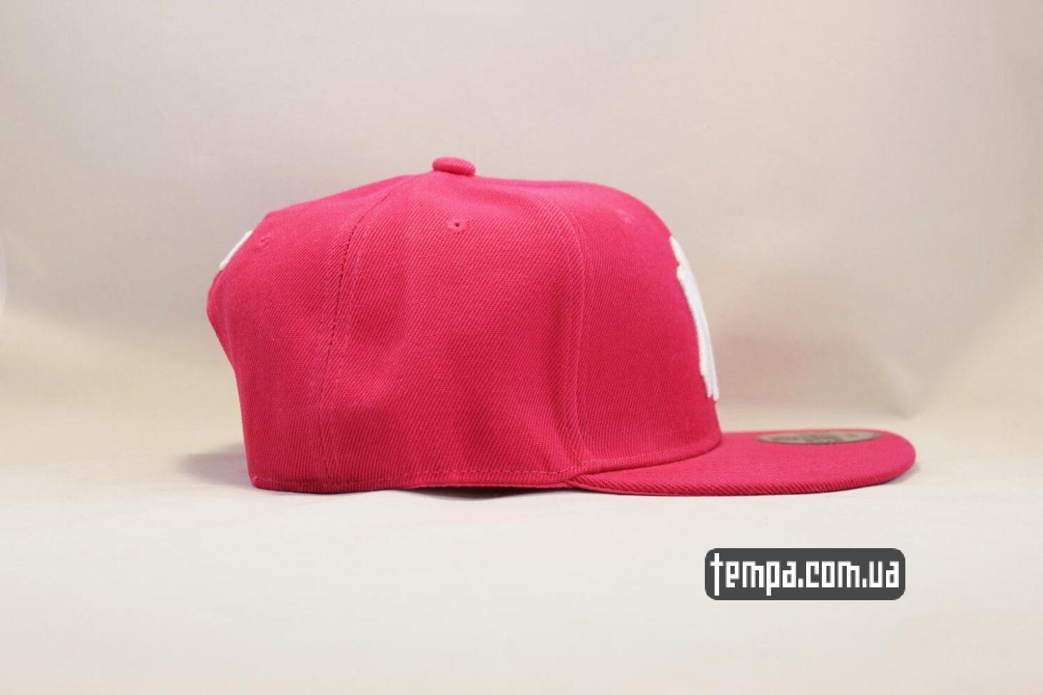 New Era Магазин кепка snapback NY Yankees New York Pink Розовая купить Украина