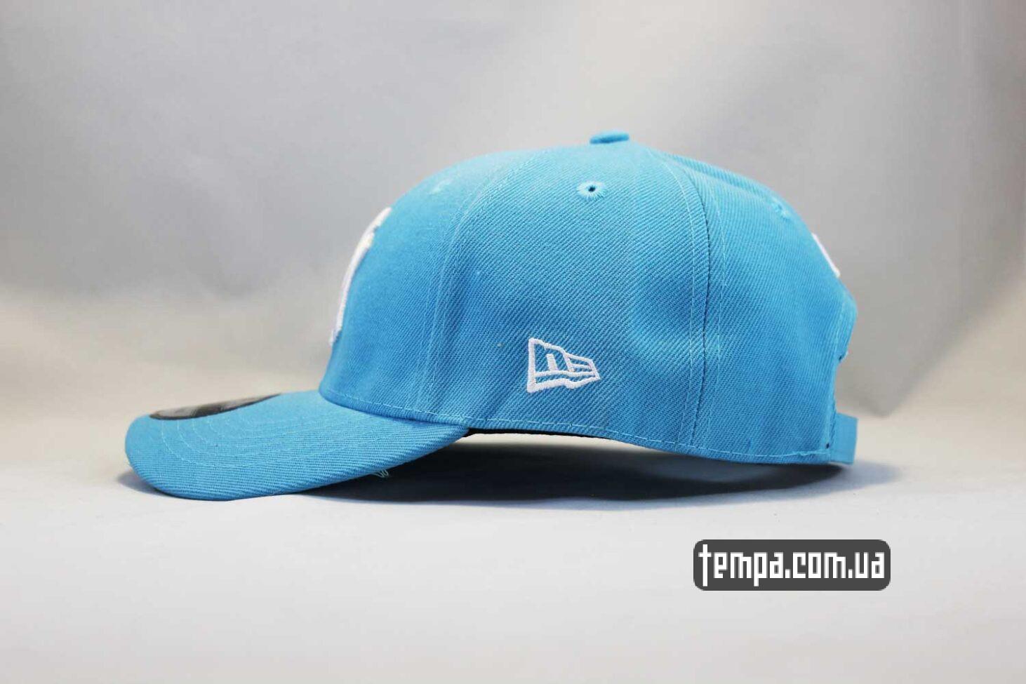 нью эра одежда кепка бейсболка snapback New Era New York Yankees голубая купить