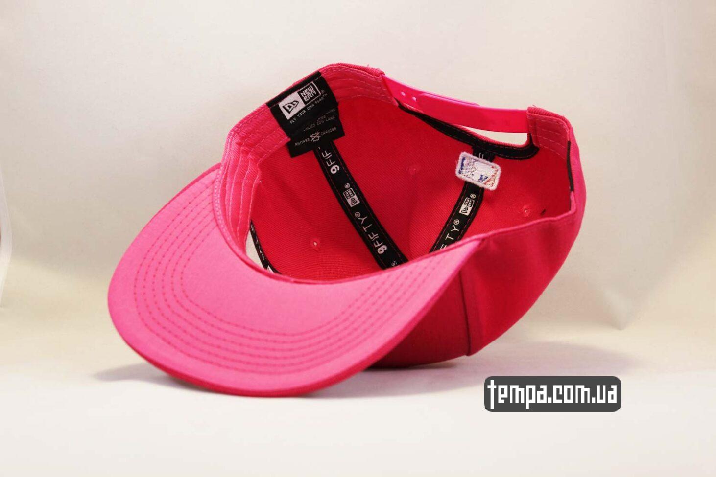 оригинальная одежда New Era кепка snapback NY Yankees New York Pink Розовая купить Украина