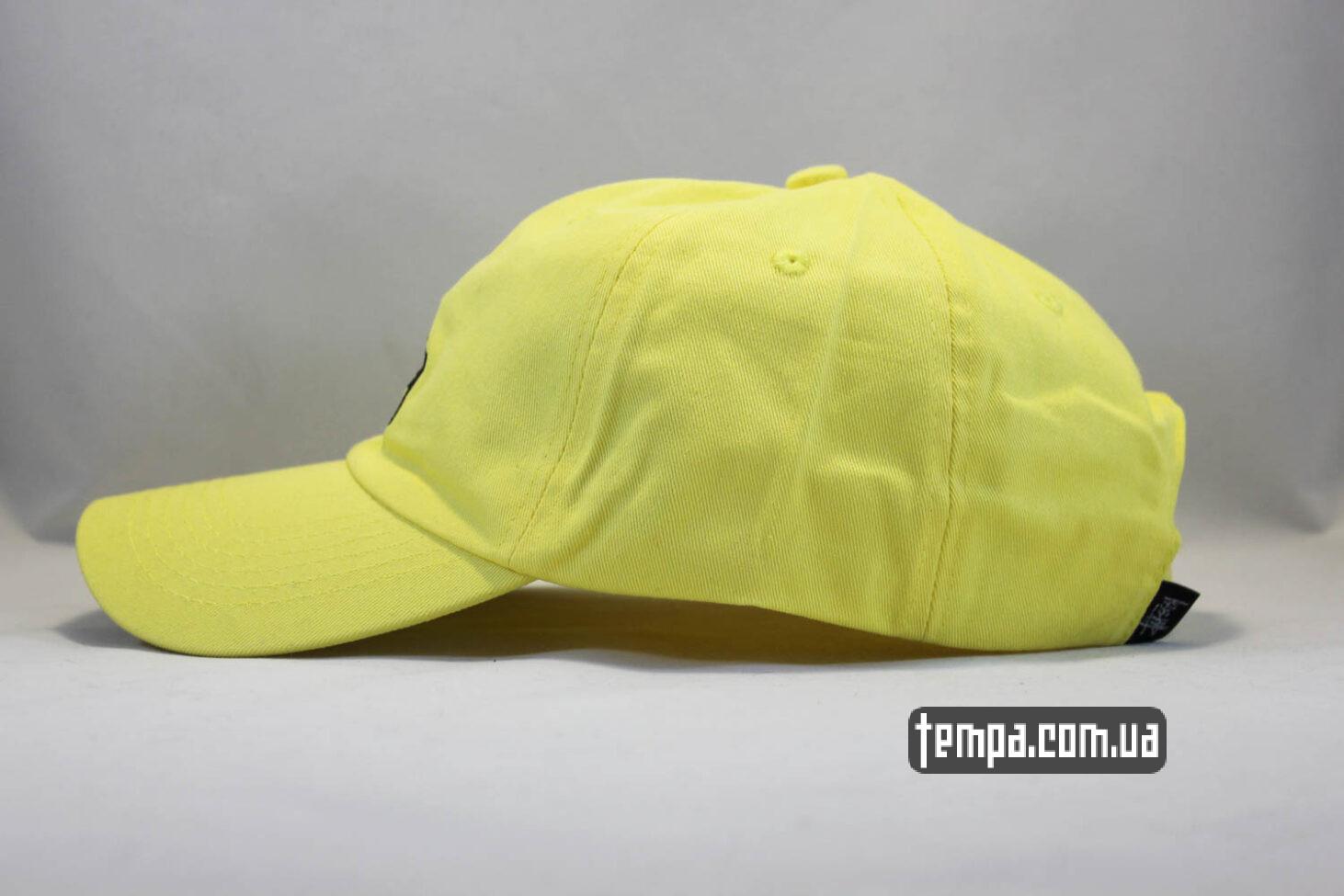 stussy Odessa магазин кепка бейсболка Stussy стусси желтая купить оригинал